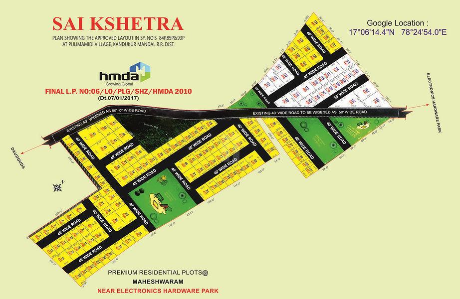 Sai Kshetra - Master Plans