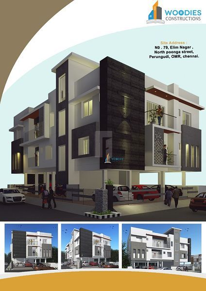 Woddies Perungudi flats - Project Images