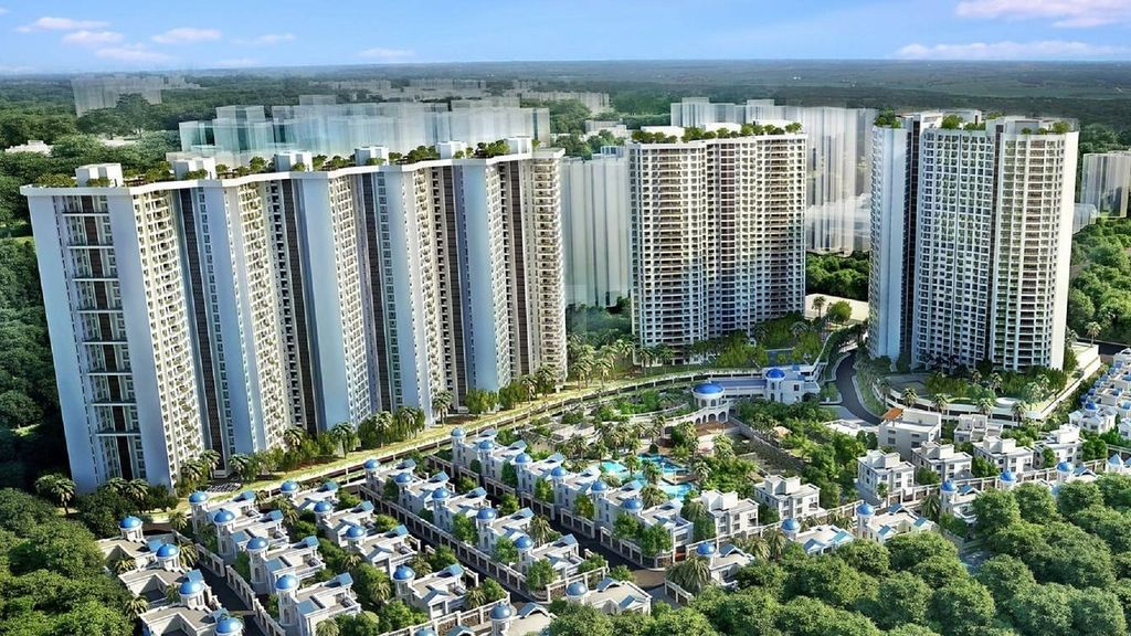 T Bhimjyani Infinity Towers - Project Images