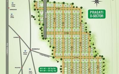 pragati-green-valley-d-sector-in-himayat-nagar-master-plan-1sra